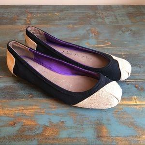 Toms shoes, size 8